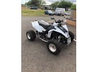 Long mot Road legal quad 300. Yamaha fazer 600 engine