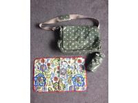 Never used Cath Kidston changing bag plus extras