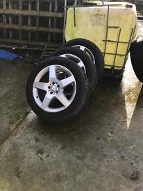 "19"" AMG Genuine Mercedes ML wheels"