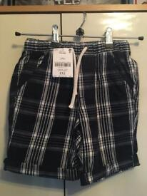 5 x boys shorts (3 with tags still on)