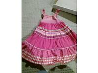 Pink Summer Dress, 2-3 years