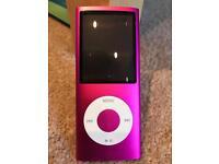 iPod Nano 4th Generation 8GB Pink