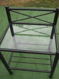 Elegant Glass Top Table
