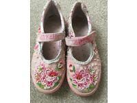 Lelli Kelly canvas shoes pumps size 33 (size 1)
