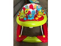 Red Kite Baby Go Round Twist 2-in-1 Walker, excellent condition
