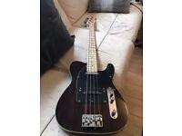 Custom Built Telecaster Bass. Right Handed.