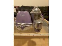 Preethi lavendar mixer grinder with 2 jars