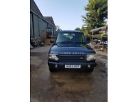 Landrover discovery 2 well maintained fsh just had new clutch and fly wheel