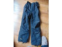 BOY'S TRESPASS SKI PANTS SIZE 9-10