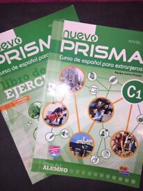 Level C1 Spanish Exercise book and TextBook