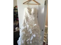 Wedding dress - NEVER BEEN WORN - with tags - size 18