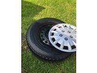 Caravan wheels. 5 stud pcd 112