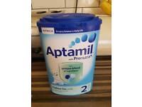 Brand new sealed follow on formula milk