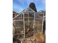 6x4 polycarbonate greenhouse