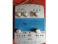 Tascam US122 Portable studio / external soundcard. Audio / Midi interface Working condition £20