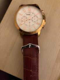 Fossil Watch Roase Gold