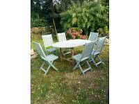Winchester collection teak garden set