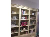 Triple bookcase