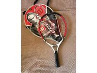 "Child's titanium Federer tennis racket. 3.5"""