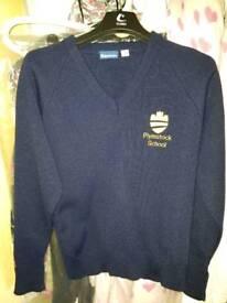 Plymstock school sweater