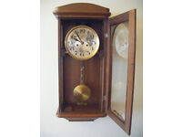 """1920's HAU wall clock with """"Parzivalgong"""""""