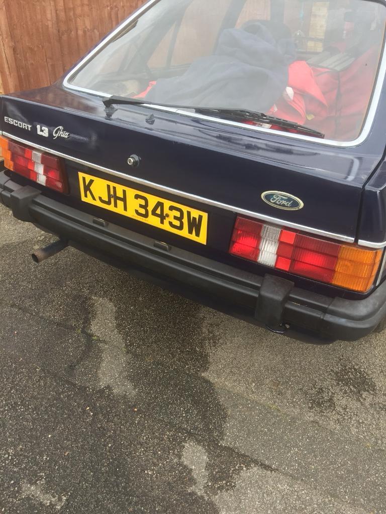 Classic ford escort 1981