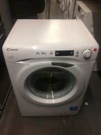 CANDY 8KG A++ 1600 SPIN WHITE WASHING MACHINE RECONDITIONED