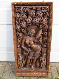 Victorian Indian Carving - Exceptional Detail