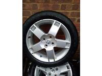 volvo alloy wheels and tyres