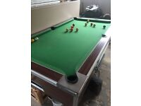 7ft pub style slate bed pool table