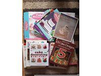 Cake books and cake decorating magazines