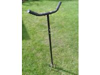 Steel T handled cultivator