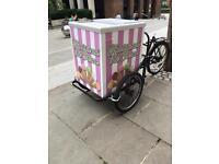 Ice cream bike and Freezer