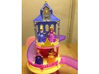 Disney princess magiclip glitter glider castle. Excellent condition.