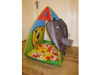 Play Tent and Net of Balls