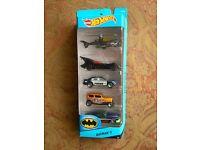 Hot Wheels Batman Set.