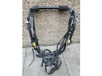 Halfords 3 Bicycle / Bike / Cycle carrier - Rear mounted