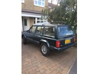 Jeep Cherokee XJ 4.0 project. Early pre airbag car. Classic insurance.