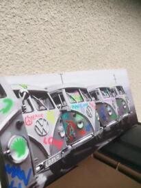 VW vans art canvas