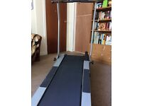 Biosync Foldable Treadmill for sale in very good condition. Fold flat for easy storage.