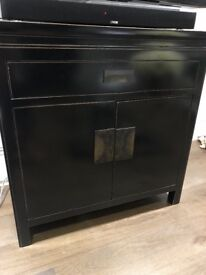 Wenge Style solid wooden Cabinet