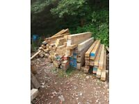 Reclaimed Timber Raised beds Garden projects Building Projects