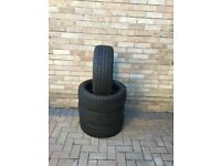 4x Michelin Primacy Alpin 205/45R17 winter tyres