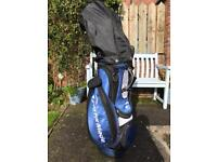 Men's TaylorMade Golf Clubs Set Hardly Used