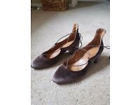 Minj Lace up Dolly Shoes - Size 6 - New from Next this season - never been worn