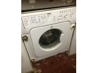 Indesit built in inter grated washing machine £139 can deliver and install