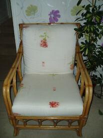 wicker consevatory chair