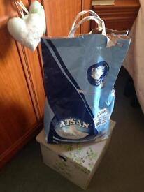 Large bag of Catsan 🐈🐔