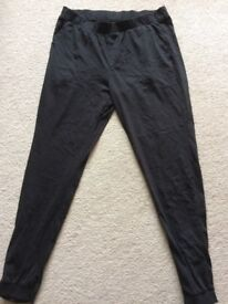 "ASOS new loungewear pants trousers in black size 32"" ( Medium) !"