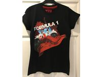 F1 Formula 1 2007 World Championship T Shirt Top - Approx Size 8-10 VGC